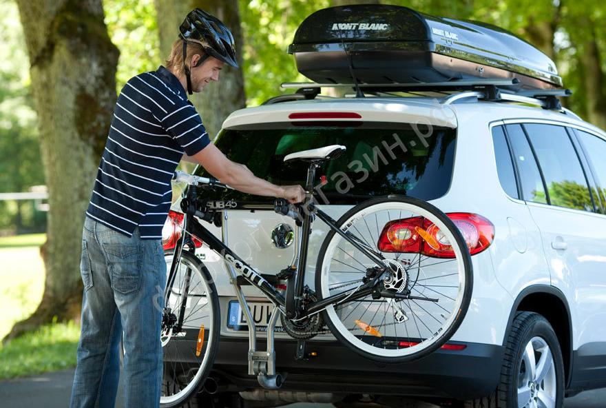 Как сделать багажник для велосипеда на фаркоп своими руками