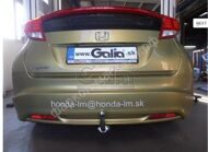 Фаркоп для Honda Civic 2012г. и по н.в. (хэтчбек)